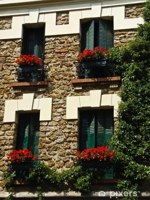 Nálepka Pixerstick Pařížské Windows - Evropa