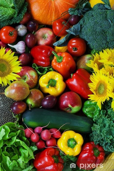 Sticker Pixerstick Fruits et Légumes - Thèmes