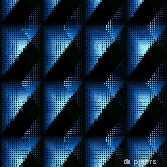 Fototapeta winylowa Niebieskie kropki - Tła