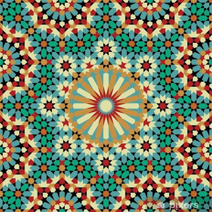 Fototapeta winylowa Nawa Seamless Pattern Eight - Mozaika