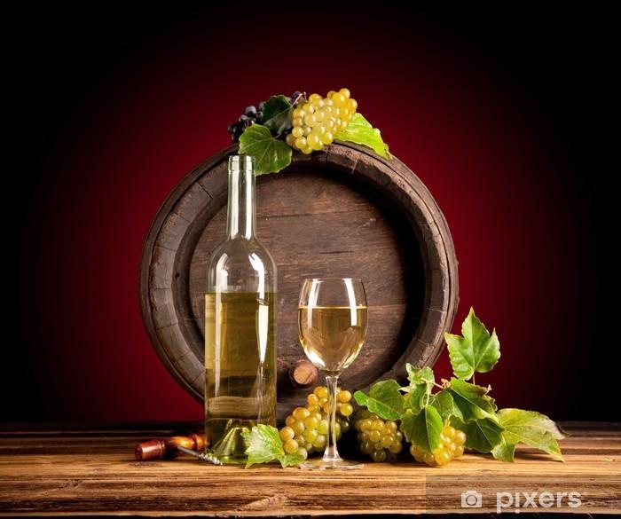Fototapeta winylowa Wino z beczki - Posiłki