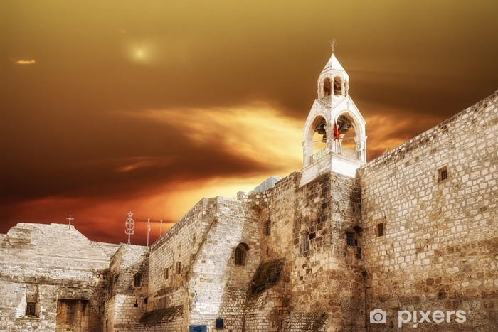 Pixerstick Dekor Bethlehem Basilica Födelsekyrkan - Mellanöstern