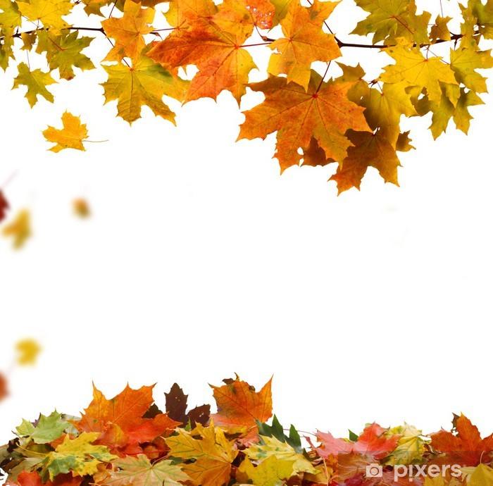 Plakát Autumn leaves - Roční období