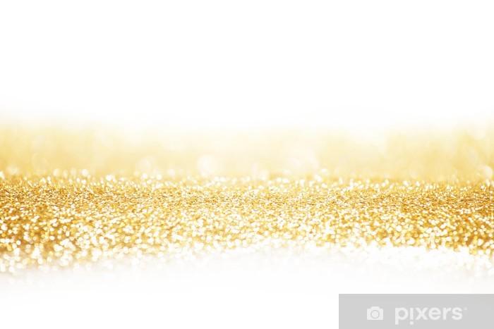 Fotomural Estándar Resumen de fondo de oro - Destinos