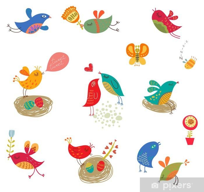 Plakat Ptaki ustawić - Świętowanie