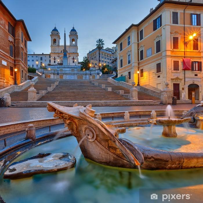 Spanish Steps at dusk, Rome Poster - Themes