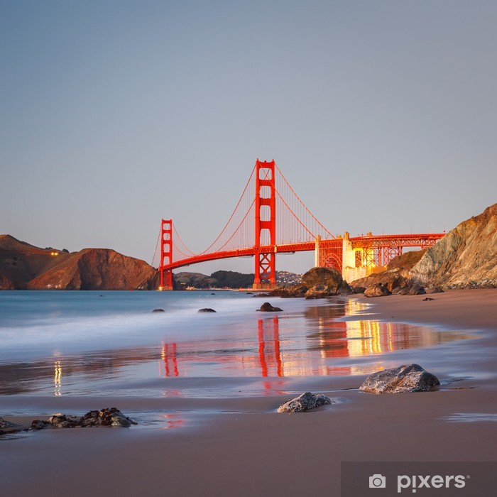 Naklejka Pixerstick Most Golden Gate - Tematy