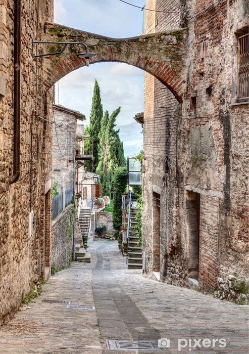 Papier peint vinyle Antique italien alley - Thèmes