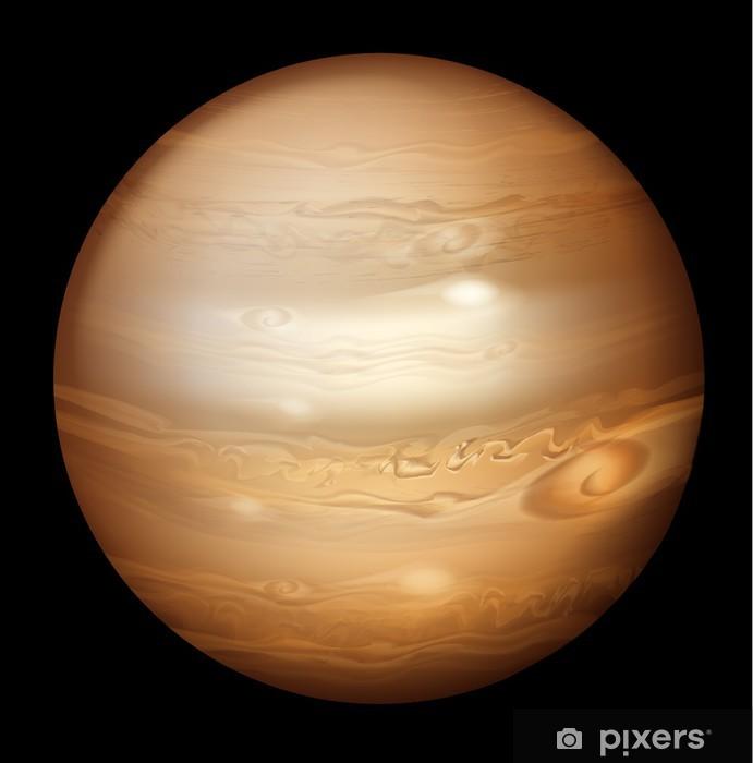 Naklejka Pixerstick Jupiter - Planety
