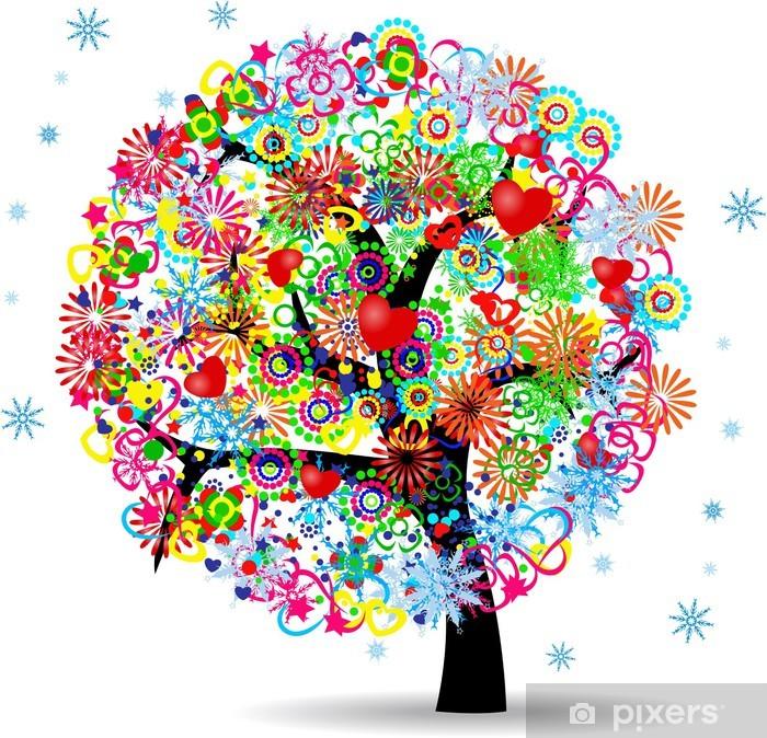Fototapete Der Baum Des Lebens • Pixers® - Wir Leben, Um Zu Verändern