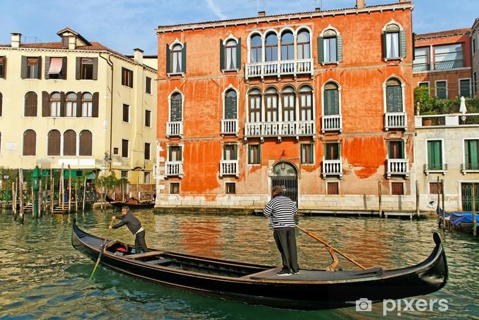 Naklejka Pixerstick Canal Grande w Wenecji - Miasta europejskie
