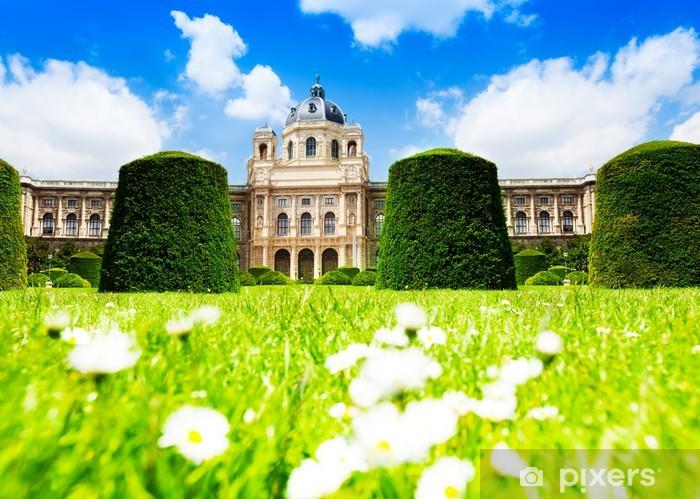 Fototapeta winylowa Muzeum Historii Naturalnej w Wiedniu. - Europa