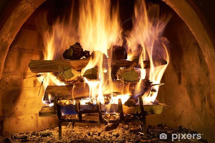 Fototapeta winylowa Zaloguj Ogień - Tematy