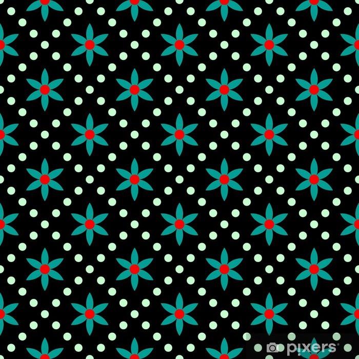 Seamless background Pixerstick Sticker - Themes