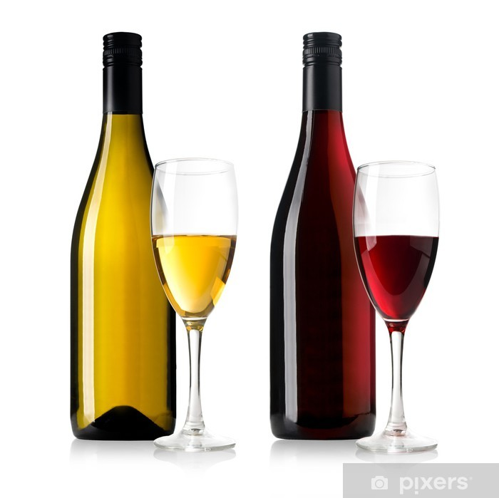 wine bottles Poster - Themes