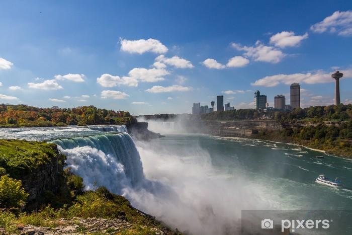 Niagara Falls from USA side Pixerstick Sticker - America