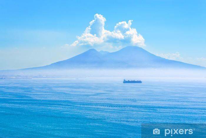 Fototapeta winylowa Ładny widok na wulkan Wezuwiusz - Góry