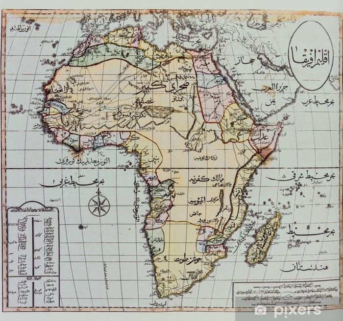 Historiallinen Kartta Afrikasta Tapetti Pixers Elamme Muutoksille
