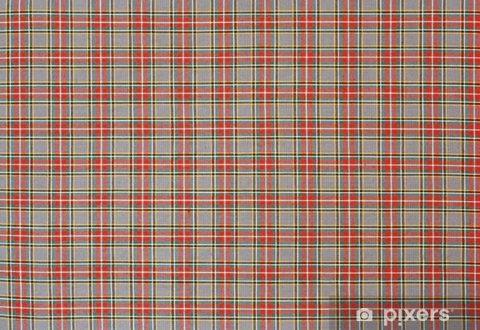 scottish tartan check pattern Pixerstick Sticker - Europe