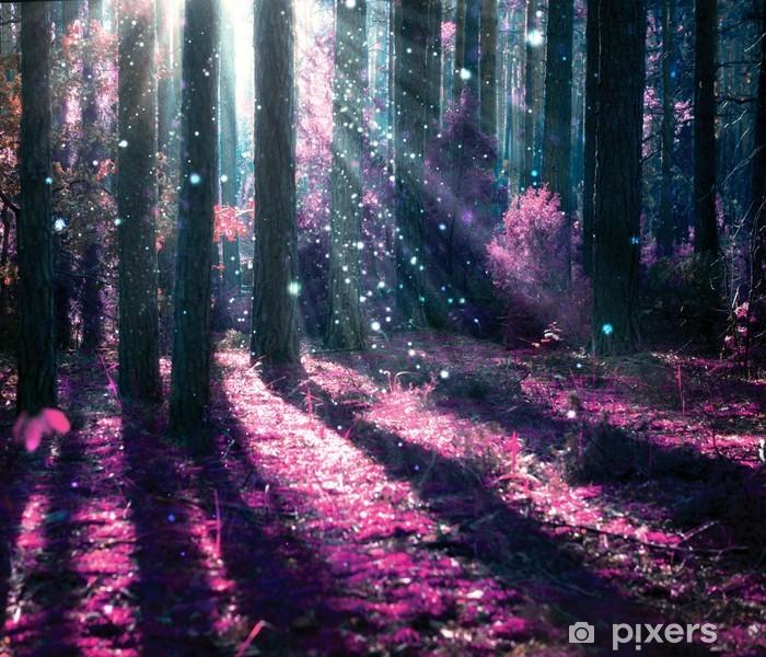Papier peint lavable Paysage d'imagination. Forêt mystérieuse vieille. - iStaging