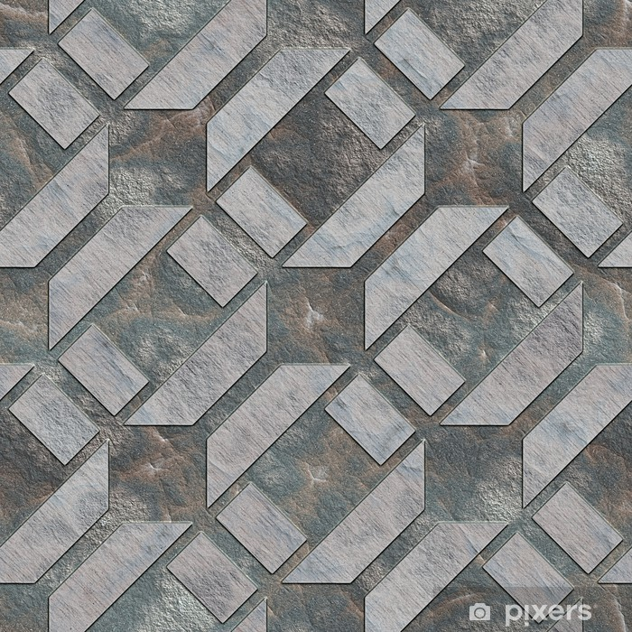 Pixerstick Aufkleber Seamless stone Muster. - Hintergründe