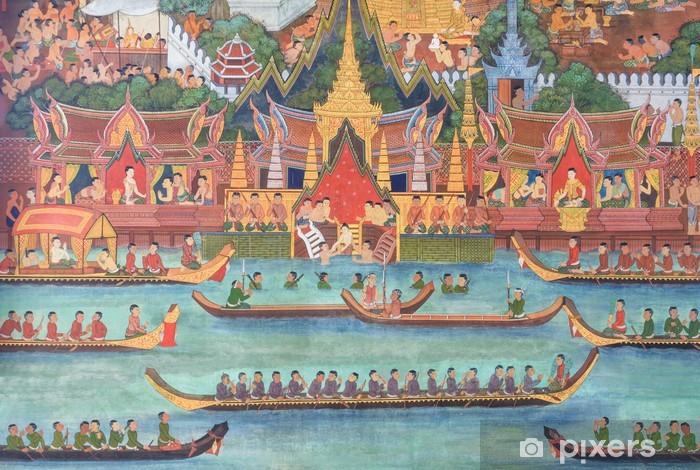 Fototapeta winylowa THAI malarstwo ścienne na ścianie # 1 - Tematy