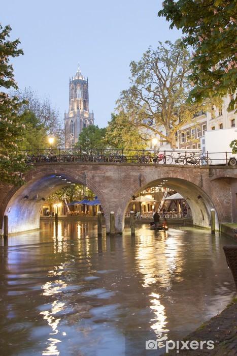 Vinyl Fotobehang Utrecht - Holland - Thema's