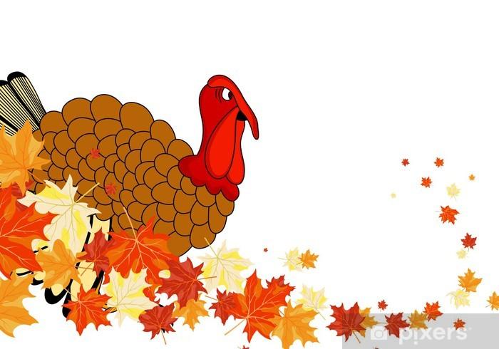 Thanksgiving day Vinyl Wall Mural - International Celebrations