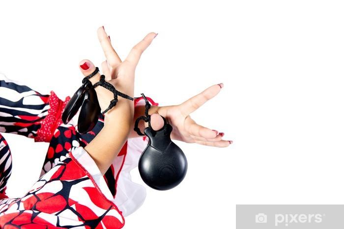 Fototapeta winylowa Szczegóły Hands of tancerz flamenco w pięknej sukni - Rozrywka