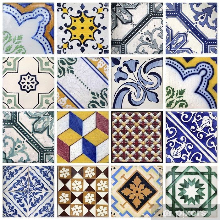Vinyl Fotobehang Traditionele tegels uit Porto, Portugal - Thema's