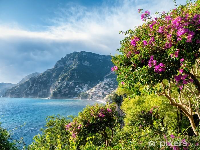 Vinyl Fotobehang Amalfi Coast - Water