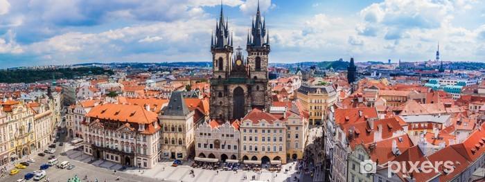 Naklejka Pixerstick Praga. Rynek Starego Miasta - Europa