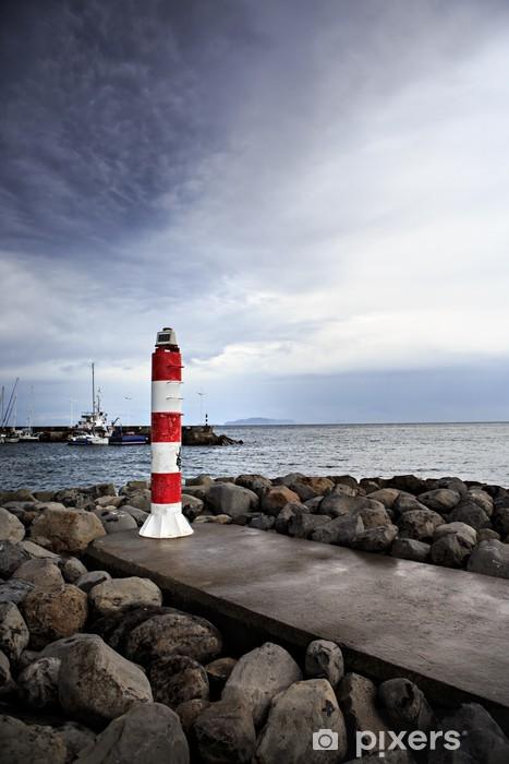 Sticker Pixerstick Machico phare - Europe