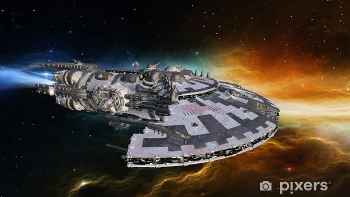 Fototapeta winylowa Statki kosmiczne - Transport powietrzny