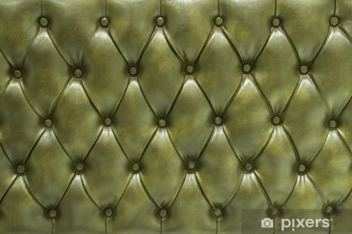 Pixerstick Sticker Levend groen leer beklede padding - Succes en Prestatie