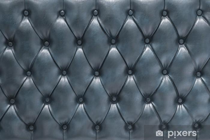 Pixerstick Sticker Blauw leer bekleed zacht oppervlak - Succes en Prestatie