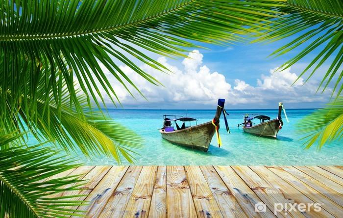 Vinyl-Fototapete Tropischen Meer - Themen