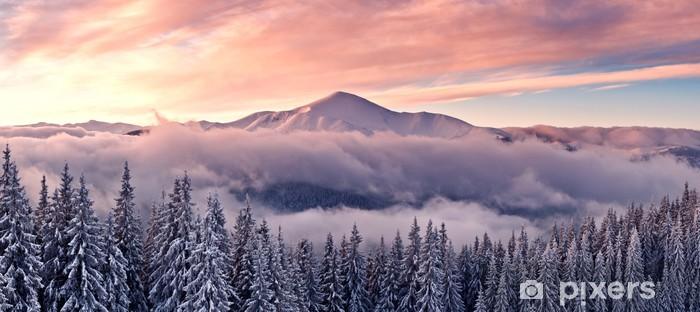 Fototapeta winylowa Góry - Style