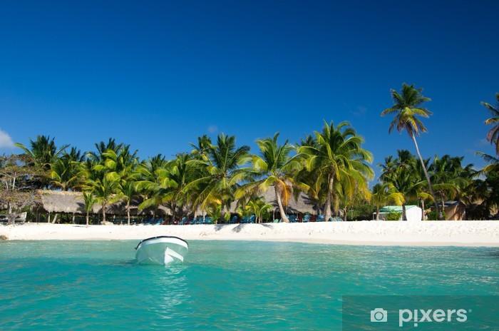 Vinyl-Fototapete Tropical beach - Wasser