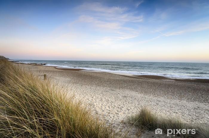 Fototapeta winylowa Zachód słońca na plaży - Tematy
