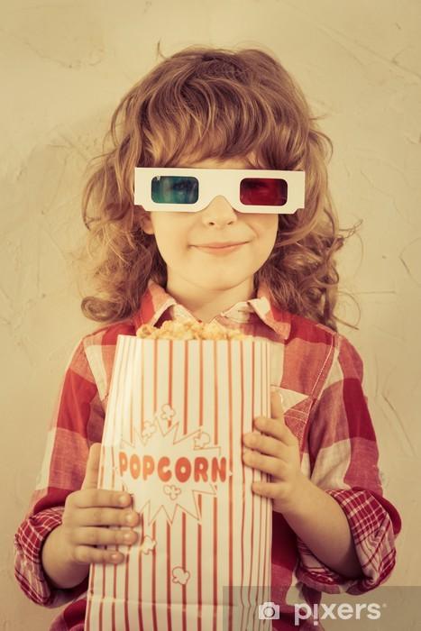 Pixerstick Klistermärken Popcorn - Teman