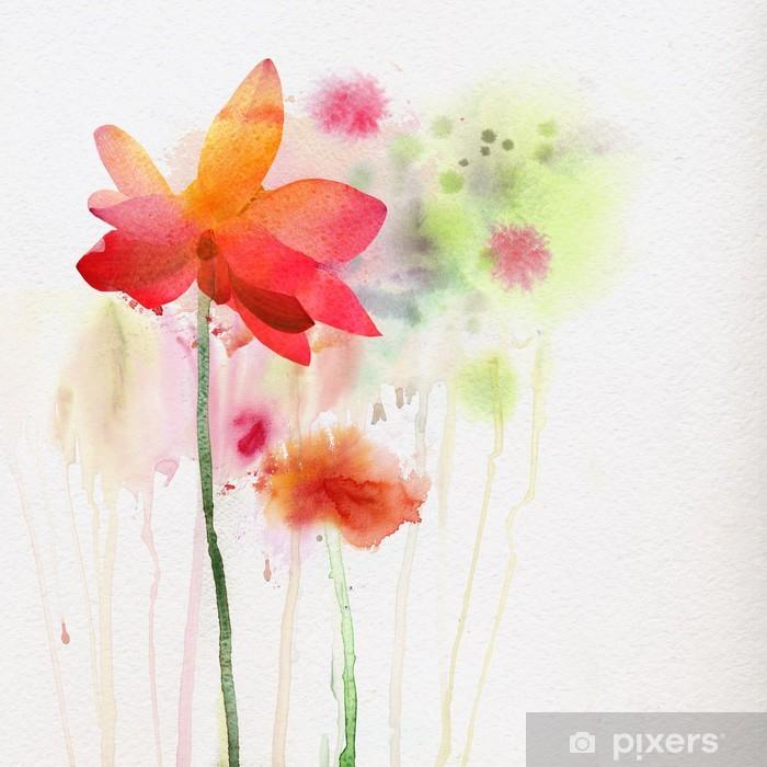 Fototapeta winylowa Akwarela lily - Sztuka i twórczość