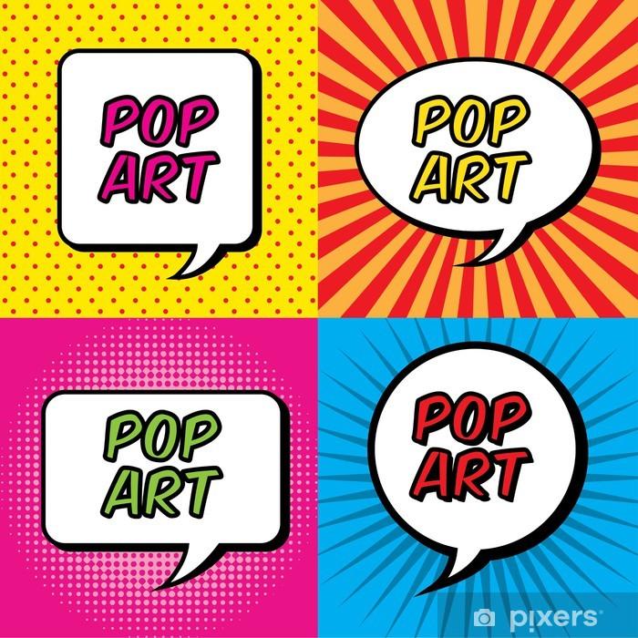 Fotomural Estándar El arte pop - Cielo