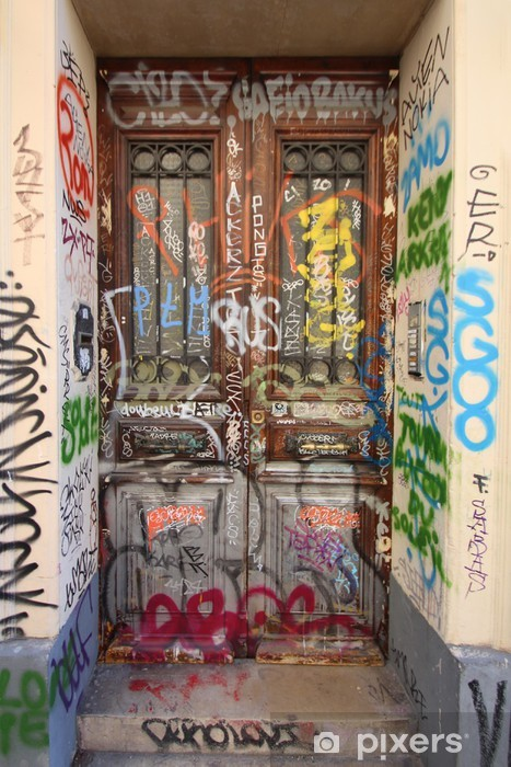 Pixerstick Sticker Marseille - Cours Julien (street art) - Infrastructuur