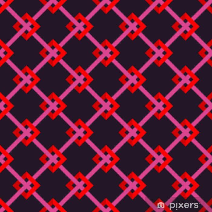Sømløs mønster Pixerstick klistermærke - Mode