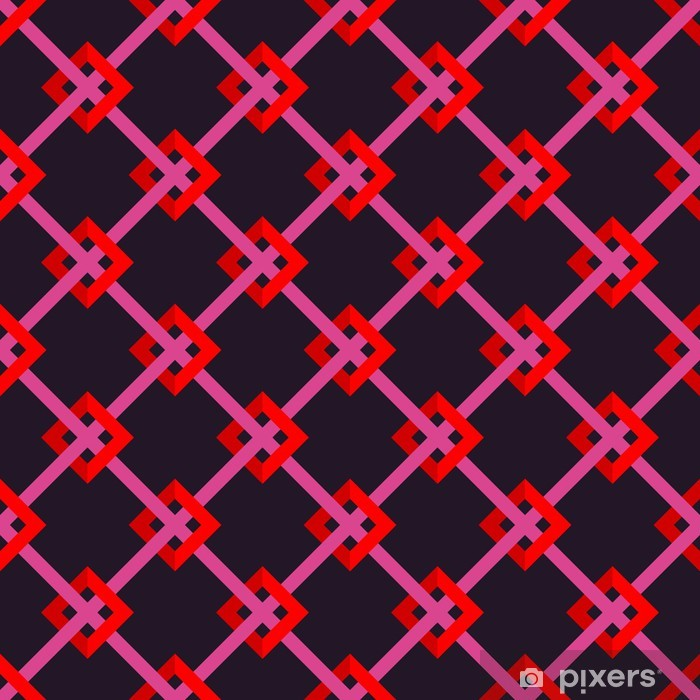 Nálepka Pixerstick Jednotný vzor - Móda