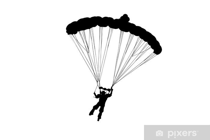 Papier peint vinyle Parachutiste - Sports individuels