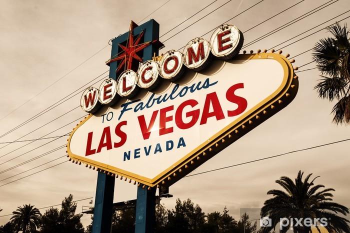 Welcome to Las Vegas Sign Vinyl Wall Mural - Las Vegas