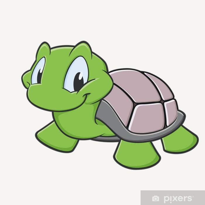 Plakát Cute želva - Ostatní Ostatní