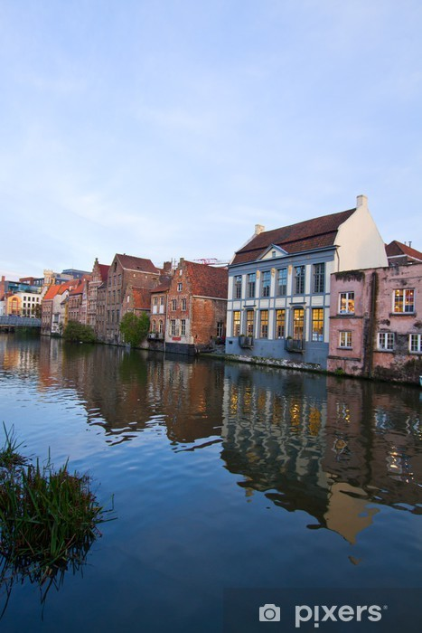 old town of Ghent Vinyl Wall Mural - Europe